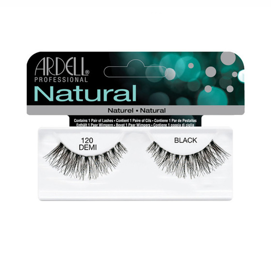ARDELL LASHES NATURAL DEMI BLACK 120