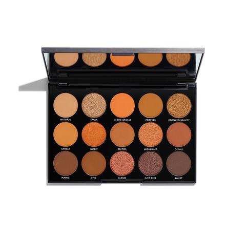 MORPHE BRUSHES 15D DAY SLAYER EYESHADOW PALETTE