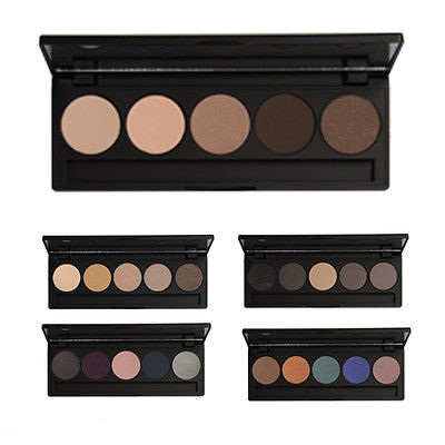 INGLOT 5 EYE SHADOW PALETTE WITH MIRROR