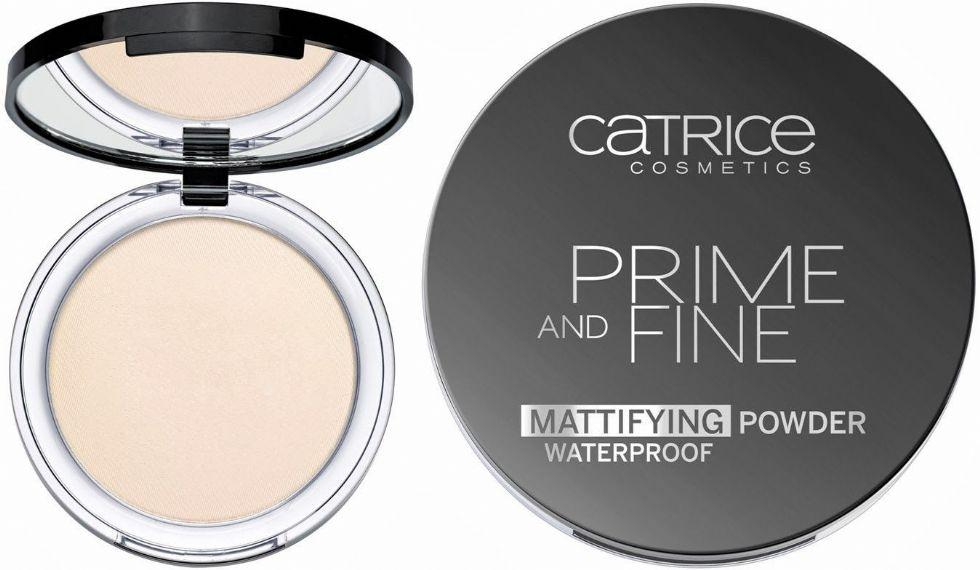 CATRICE PRIME AND FINE POWDER COLOR 010 TRANSLUCENT