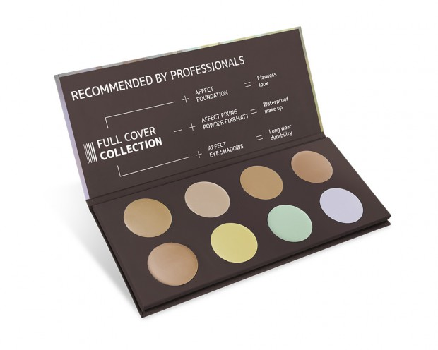 AFFECT FULL COVER CAMOUFLAGES PALETTE