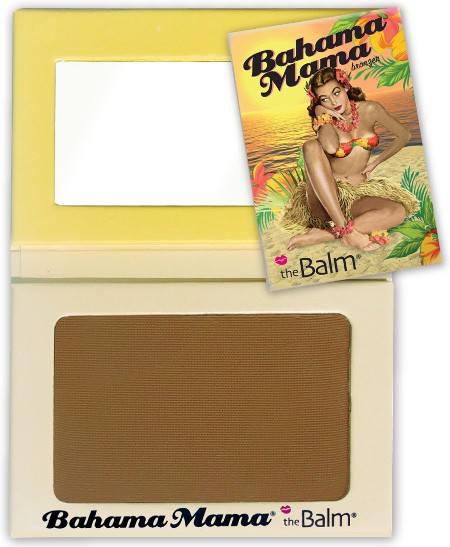 theBALM BAHAMA MAMA BRONZING AND CONTOURING MATT POWDER