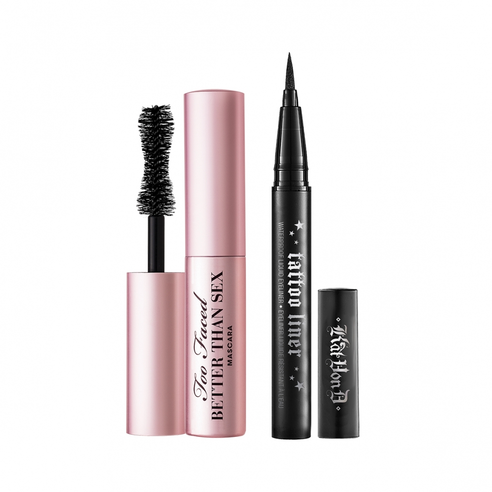 KAT VON D TOO FACED BETTER TOGETHER BESTSELLING MASCARA & LINER DUO