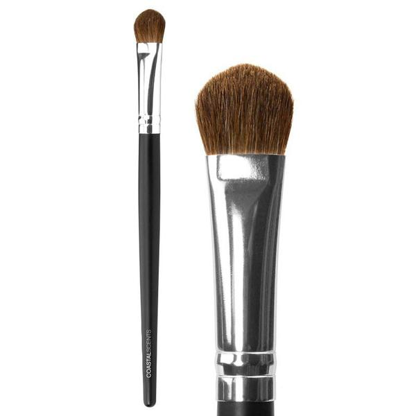COASTAL SCENTS CLASSIC SHADOW LARGE NATURAL BRUSH