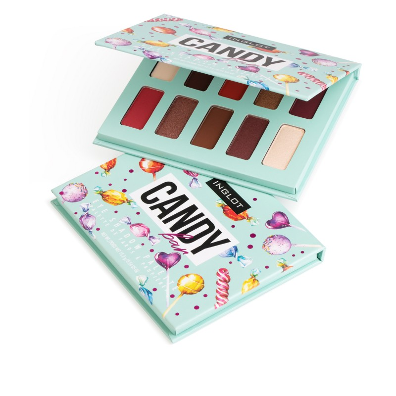 INGLOT EYESHADOW PALETTE CANDY BAR