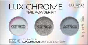 CATRICE LUX CHROME NAIL POWDER KIT