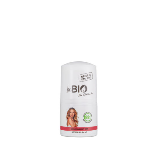 BE BIO COSMETIQS BY EWA CHODAKOWSKA GOJI BERRIES & POMEGRANATE DEO ROLL-ON 50ml