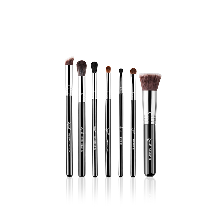 SIGMA BEAUTY BEST OF SIGMA BRUSH SET CHROME FERRULE