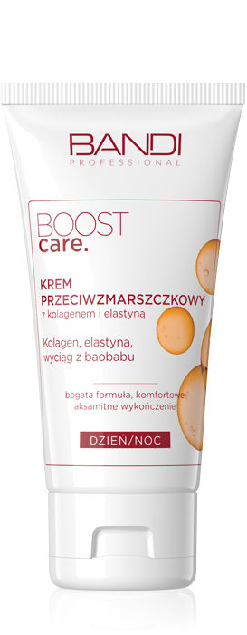 BANDI BOOST CARE ANTI-WRINKLE CREAM WITH COLLAGEN AND ELASTIN 50ml