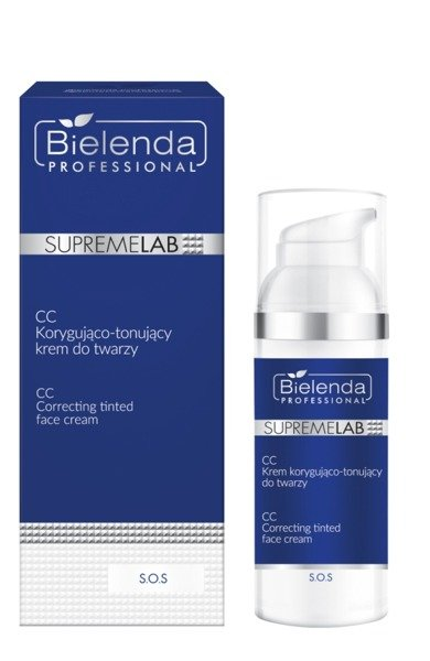 BIELENDA SUPREMELAB SOS CC CORRECTING AND TONING FACE CREAM 50ML