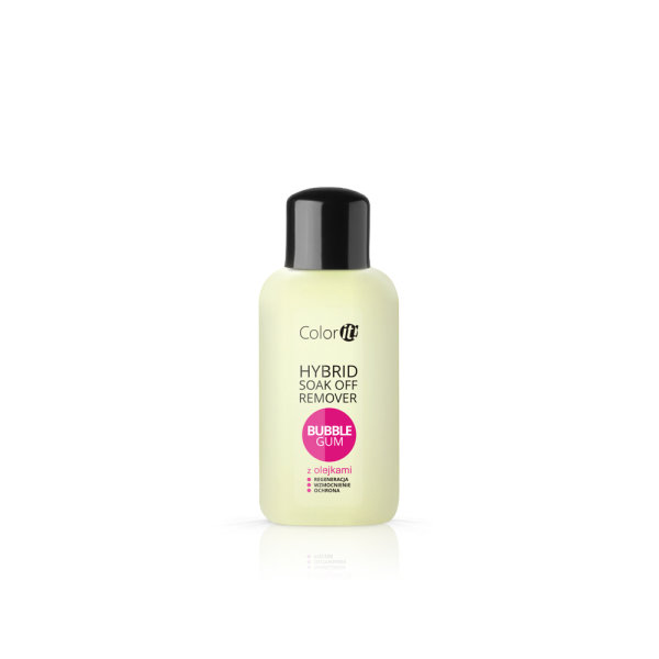 SILCARE COLOR IT SOAK OFF REMOVER WITH OILS BUBBLE GUM