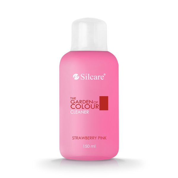 SILCARE THE GARDEN OF COLOUR CLEANER STRAWBERRY PINK