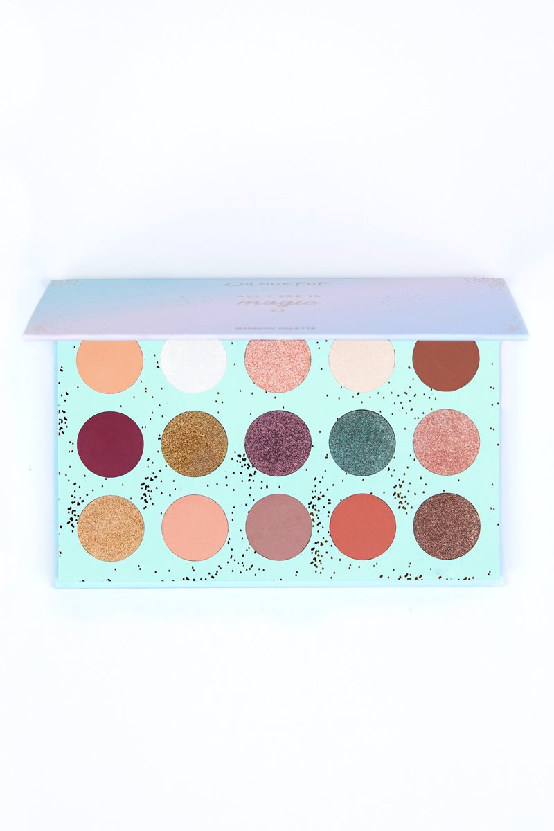 COLOURPOP ALL I SEE IS MAGIC SHADOW PALETTE