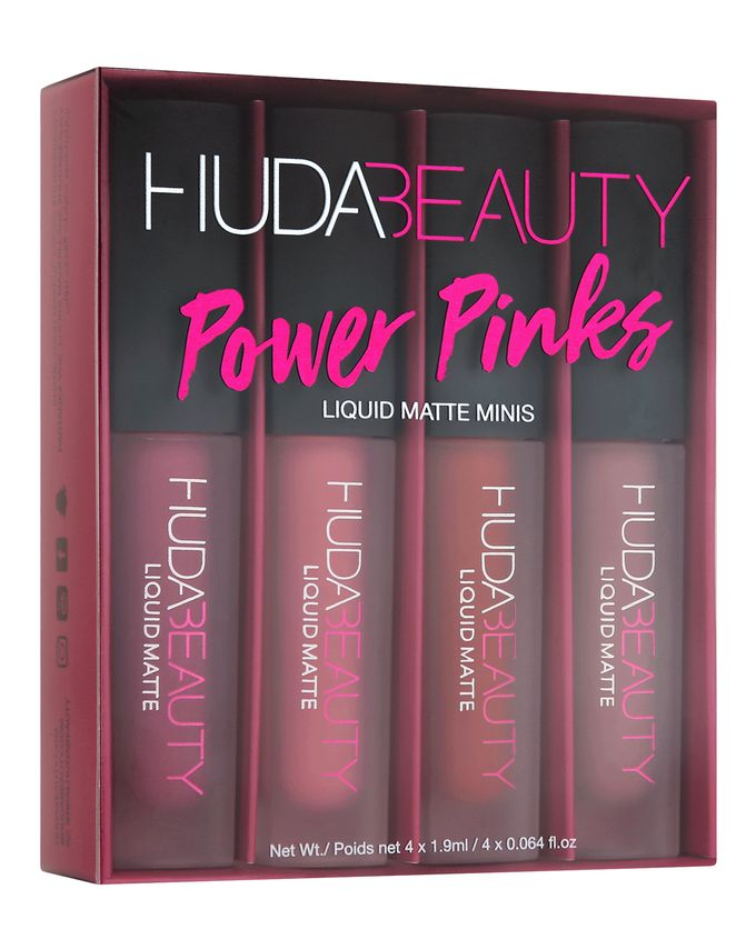 HUDA BEAUTY LIQUID MATTE LIPSTICKS SET