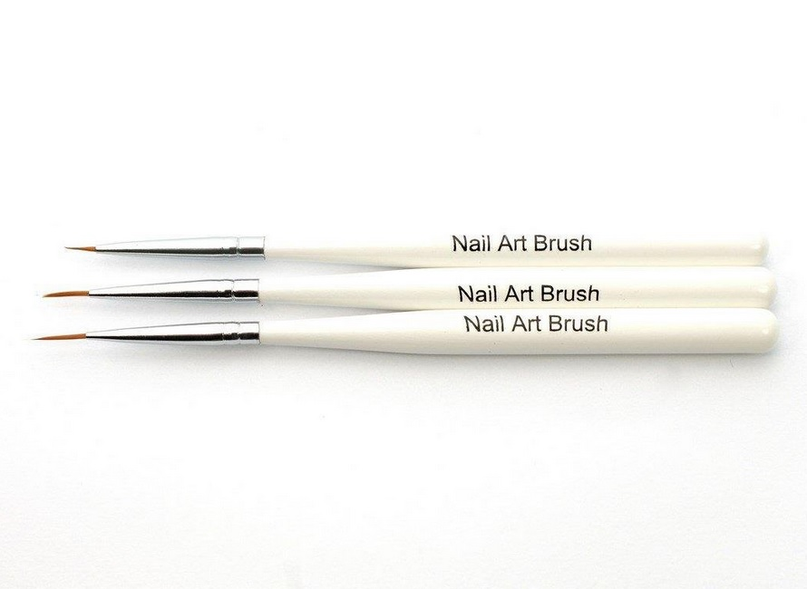 ABA GROUP BRUSH SET KPL 3PCS WHITE SHORT