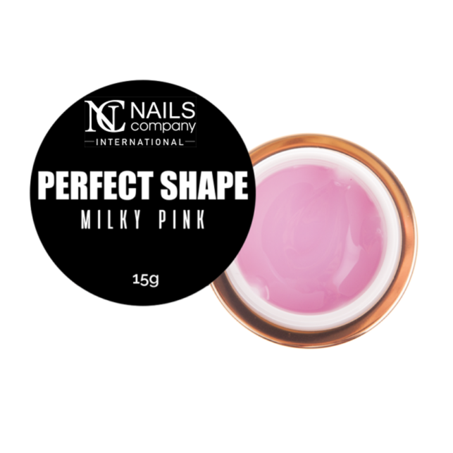 NAILS COMPANY NAIL GEL PERFECT SHAPE - MILKY PINK 15G