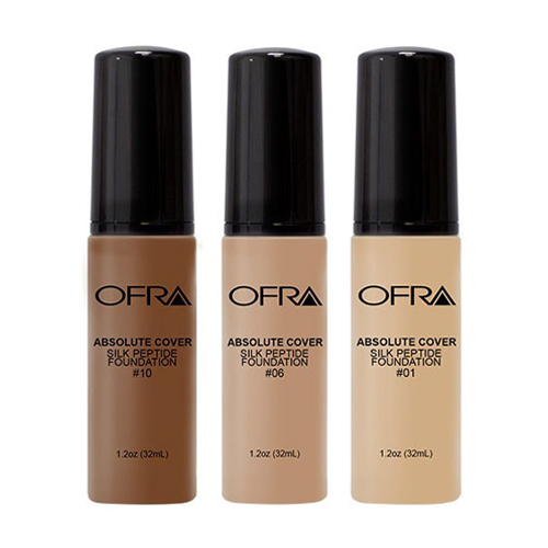 OFRA COSMETICS ABSOLUTE COVER SILK PEPTIDE FOUNDATION