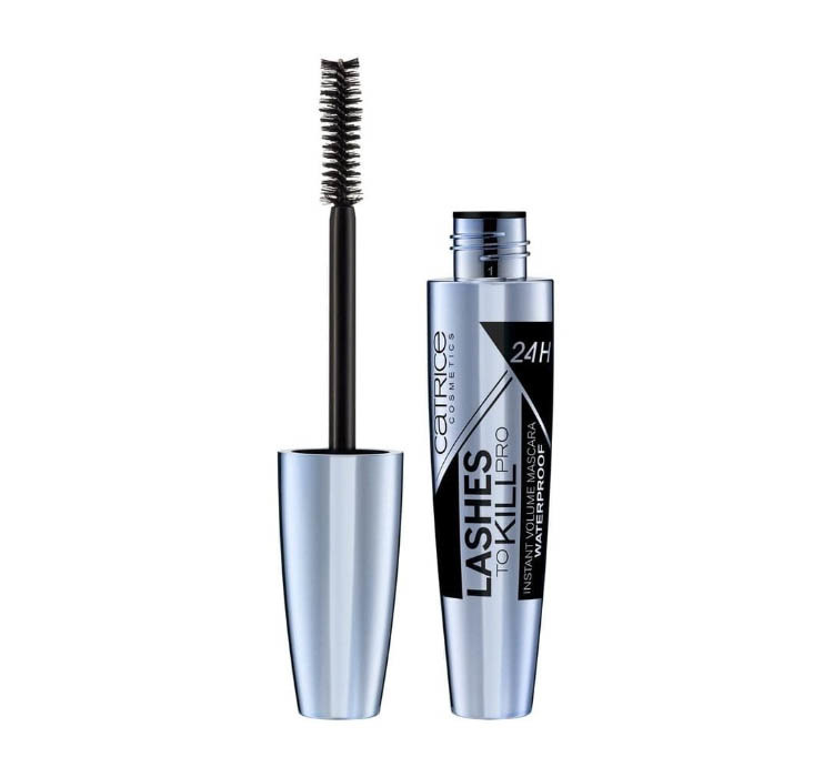 CATRICE MASCARA LASHES TO KILL PRO INSTANT VOLUME 24H MASCARA ULTRA BLACK WATERPROOF