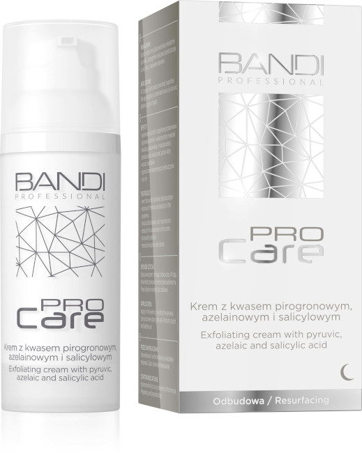 BANDI PRO CARE EXFOLIATING CREAM WITH PYRUVIC AZELAIC AND SALICYLIC ACID