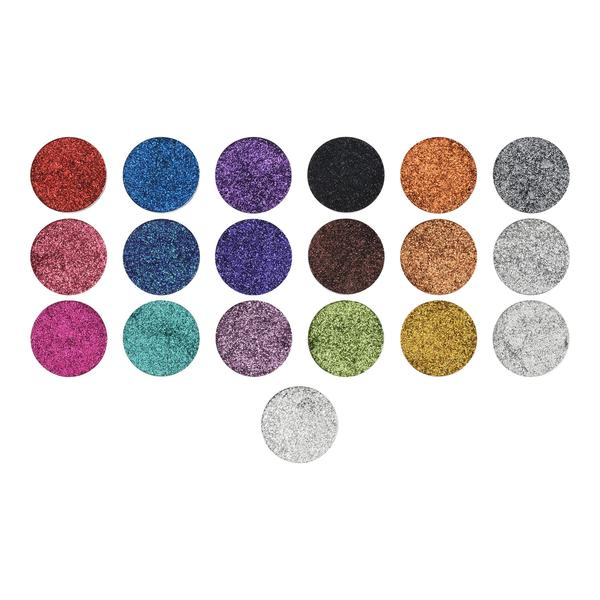 OPV BEAUTY EYESHADOW PRESSED GLITTER REFILL