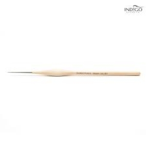 INDIGO MASTER NAIL ART BRUSH 001 (WOOD HANDLE)