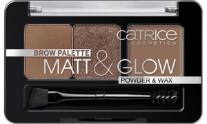 CATRICE BROW PALETTE MATT & GLOW POWDER & WAX