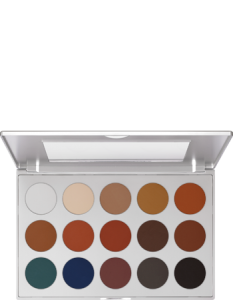 KRYOLAN EYE SHADOW PALETTE 15 COLORS TN1
