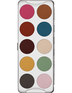 KRYOLAN EYE SHADOW PALETTE 10 COLORS CLASSIC