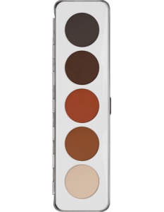 KRYOLAN EYE SHADOW PALETTE 5 COLORS SHADING
