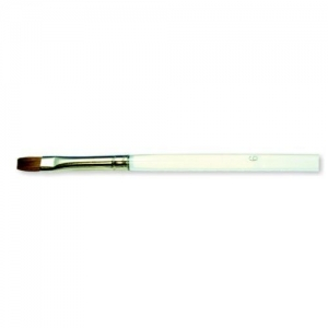 ACTIVESHOP CLEAR BRUSH 6MM NATURAL GEL HAIR