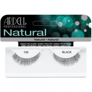 ARDELL LASHES NATURAL 109 BLACK
