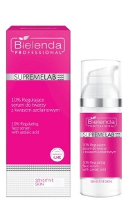 BIELENDA SUPREMELAB SENSITIVE SKIN 10% FACE SERUM WITH AZELAIC ACID 50ML