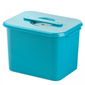 ACTIVESHOP TANK FOR STERILIZATION TOOLS 1.3L TURQUOISE