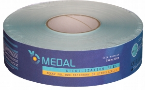 MEDAL SLEEVE FOR STERILIZATION 55mm x 200mm