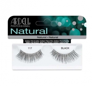 ARDELL LASHES NATURAL BLACK 117