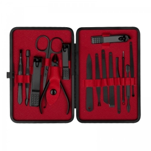 ACTIVESHOP MANICURE PEDICURE SET 15 ELEMENTS