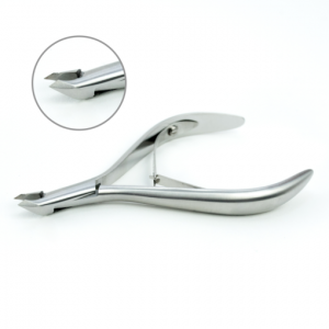 LEXWO # 140 CUTICLE NIPPERS 5MM SILVER