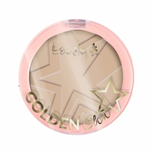 LOVELY GOLDEN GLOW NEW EDITION POWDER FOR CONTOURING FACE