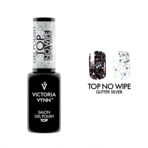 VICTORIA VYNN GEL POLISH TOP NO WIPE GLITTER