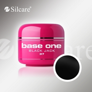 SILCARE BASE ONE COLOR GEL BLACK JACK 37