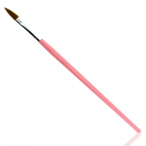 ALLEPAZNOKCIE BRUSH FOR ACRYLIC PINK NO.10
