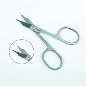 LEXWO #502 SILVER CUTICLE SCISSORS