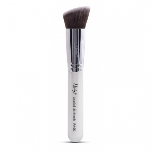 NANSHY FACE MAKEUP FOUNDATION BRUSH ANGLED FA01