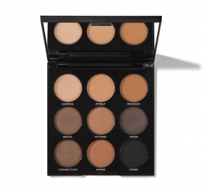 MORPHE 9A ALWAYS GOLDEN SHADOW PALETTE