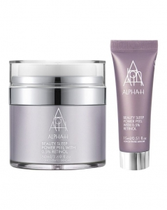 ALPHA-H BEAUTY SLEEP POWER PEEL HOME& AWAY DUO