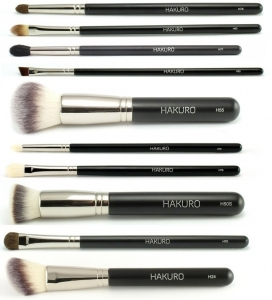 HAKURO SET OF 10 THE BEST BRUSHES H24, H50s, H55, H60, H70, H76, H77, H78, H79, H85