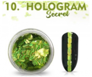 ABA GROUP HOLOGRAM SECRET - NAIL DECORATION
