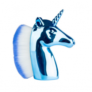 ABA GROUP DUST BRUSH UNICORN BLUE