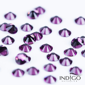 INDIGO SWAROVSKI CRYSTAL NAIL DECORATIONS - 50 PCS
