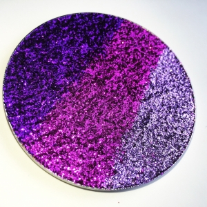 GLITTER INJECTIONS HUGE PRESSED GLITTERS AMETHYST WINE